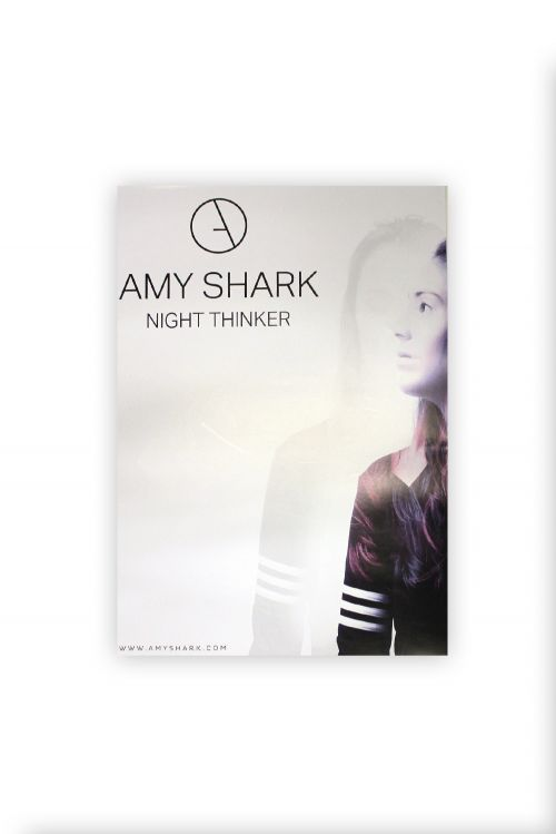 Night Thinker Poster by Amy Shark