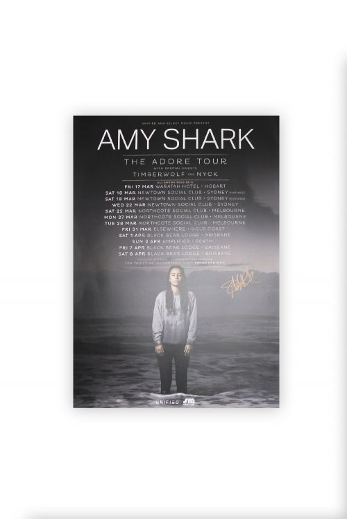 Adore Tour Poster (Signed Limited ) by Amy Shark